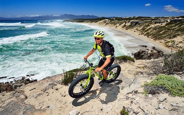 Fat bike tours De Kelders Gansbaai South Africa