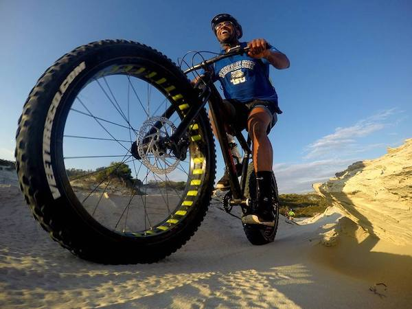 Fat bike tours De Kelders Gansbaai South Africa