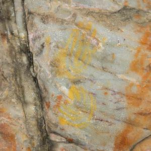 Phillipskop rock art handprints Stanford South Africa
