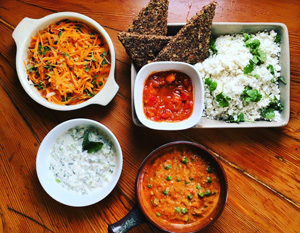 Raw and detoxifying food at Cliff Lodge De Kelders Gansbaai