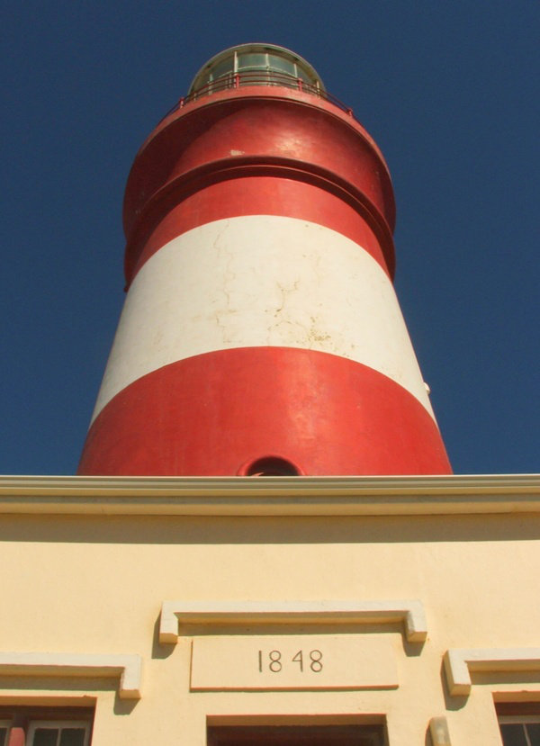 Cape Agulhas lighthouse can be visited as a day trip from De Kelders