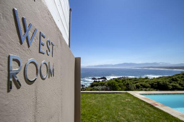 West Room view over Walker Bay